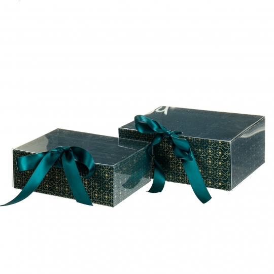 "Набор из 2-х коробок ""Одри"", зеленый (8517-001)"