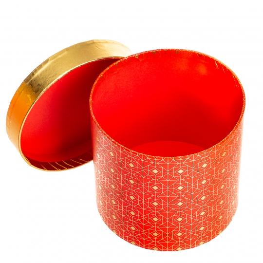 """Набор из 3-х коробок """"Софи"""", Красный (8517-014)"""