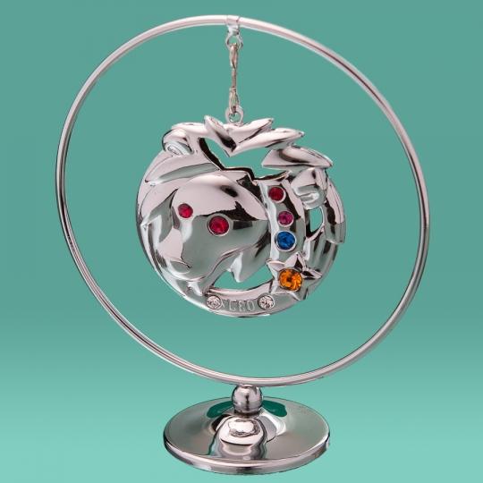 "Кольцо ""Лев"" (0454-105/GA-SL)"