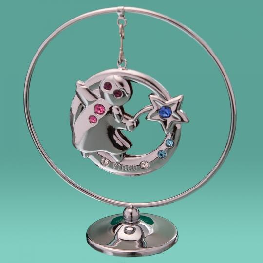 """Кольцо """"Дева"""" (0455-105/GA-SL)"""