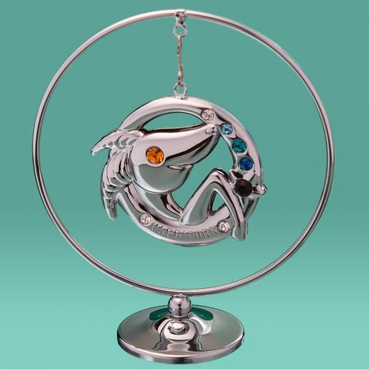 """Кольцо """"Козерог"""" (0459-105/GA-SL)"""