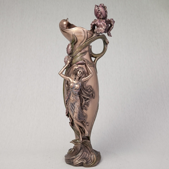 "Ваза ""Девушка в орхидеях"" (39 см) (10337 V4)"