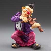 """Статуэтка """"Клоун-музыкант"""" (19 см)"""