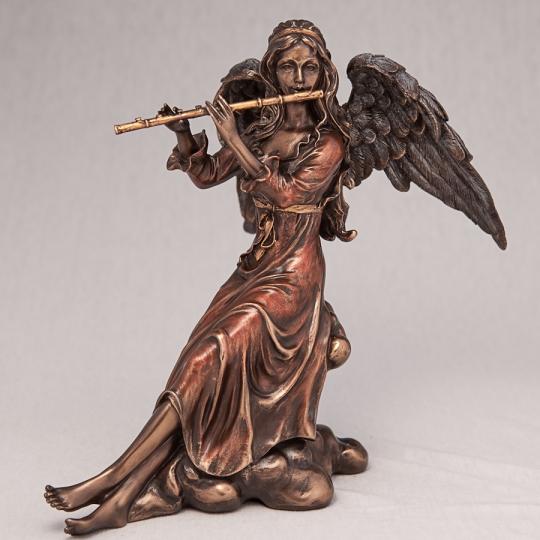"""Статуэтка """"Ангел с флейтой"""" (20 см) (70496 A4)"""