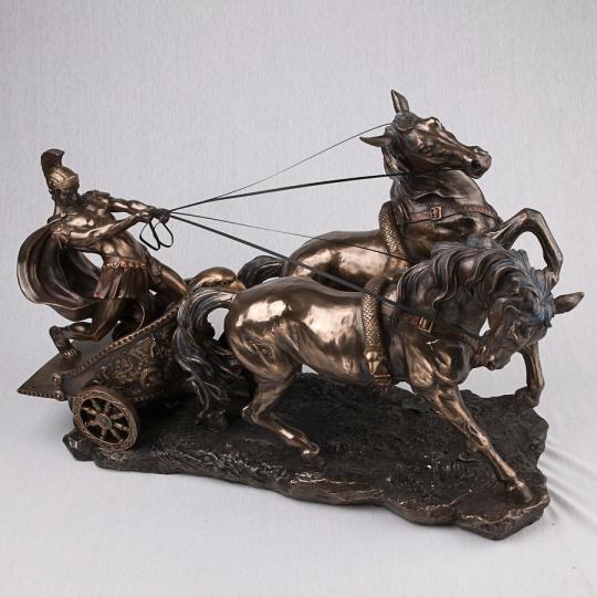 """Статуэтка """"Римский воин на колеснице"""" (62*45 см) (72706A4)"""