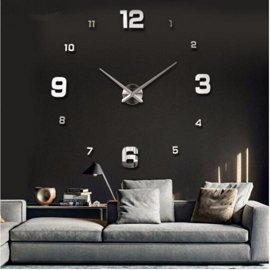 Большие настенные 3Д часы ( от 60 до 120 см) (8516-013)