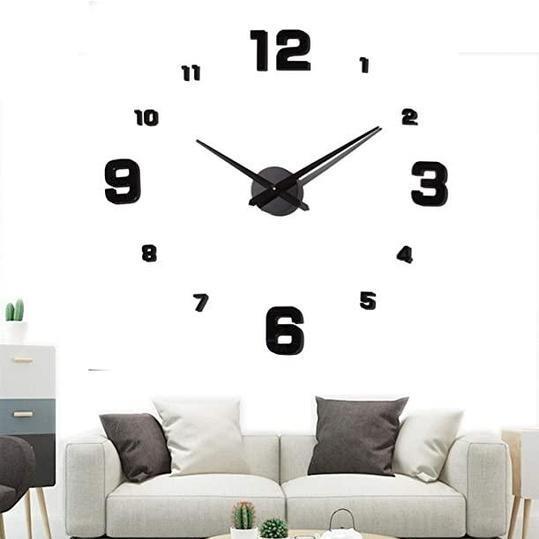 Большие настенные 3Д часы ( от 60 до 120 см) (8516-014)