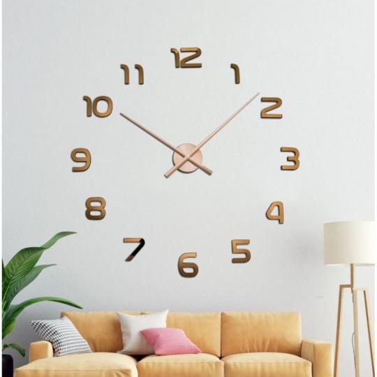 Большие настенные 3Д часы ( от 70 до 150 см) (8516-015)