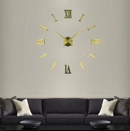 Большие настенные 3Д часы ( от 60 до 120 см) (8516-026)