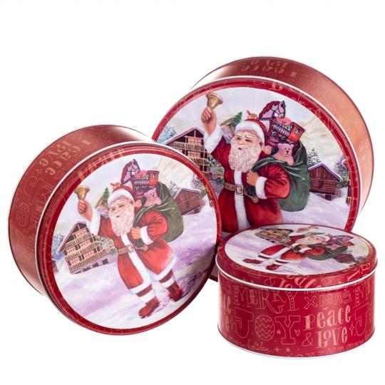 """Набор подарочных коробок """"Новогоднее чудо"""" 3 шт. (8005-013)"""
