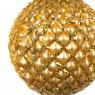 """Елочная игрушка """"Шар золотистый"""", 8см (028NB)"""