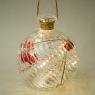 """Елочная игрушка """"Волшебный шар"""", 10х11,5см (с подсветкой) (044NB)"""