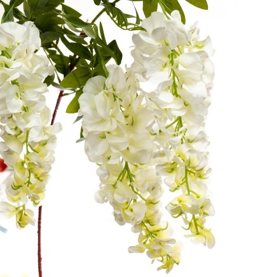 """Цветок искусственный """"Акация белая"""" (8139-006)"""