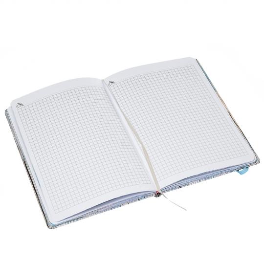 """Блокнот, серия """"Вдохновленные природой"""" (80 листов, клетка) (8016-002)"""