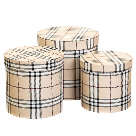 "Набор коробок ""Принт"" (beige) (8014-006)"