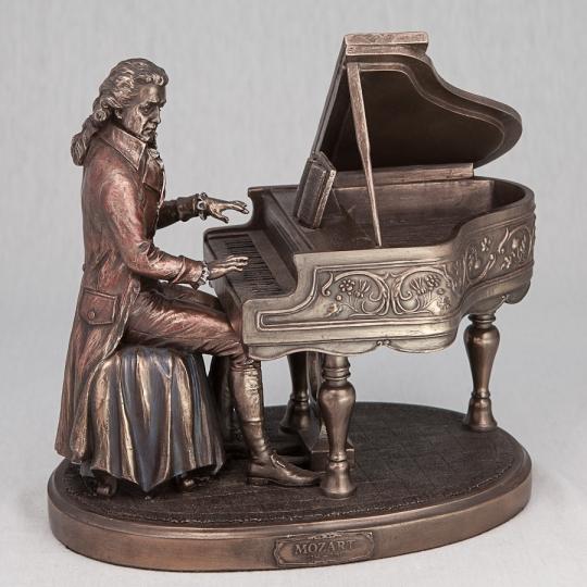 """Статуэтка """"Вольфганг Амадей Моцарт"""" (20 см) (75168 A4)"""