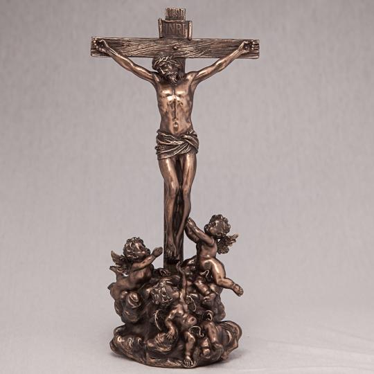 """Статуэтка """"Иисус на кресте"""" (28 см)"""