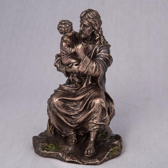 """Статуэтка """"Иисус с ребенком"""" (16 см) (75879A4)"""