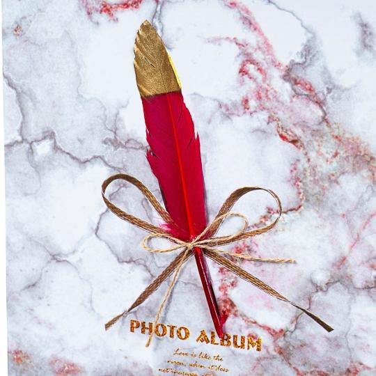 """Фотоальбом """"Перо"""" 80 фото *рандомный выбор дизайна (8140-003)"""