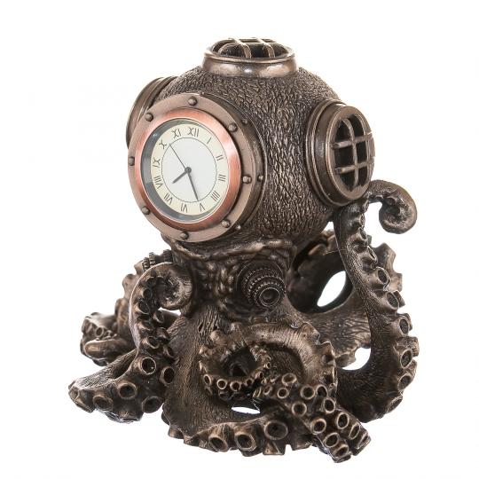 """Часы """"Осминог"""" 14 см"""