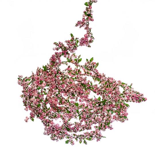 """Гирлянда """"Розовые бусики""""  3 м (6008-008)"""