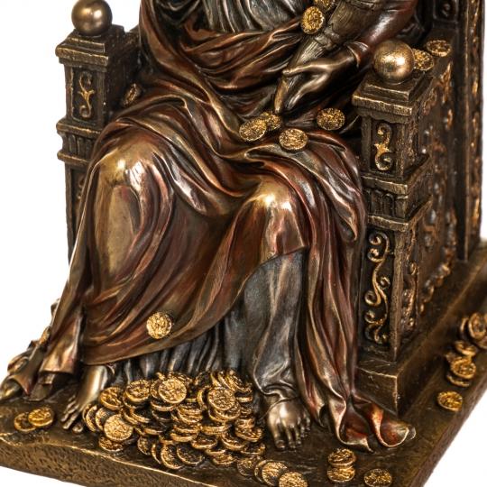 """Статуэтка """"Фортуна на троне"""" (27 см) (72737V4)"""