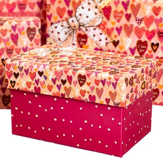 """Набор коробок """"Влюбленность"""" (10шт) (8020-009)"""