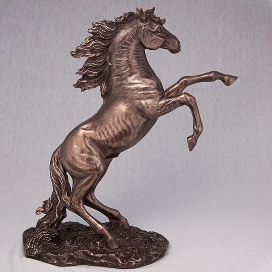 """Статуэтка """"Вздыбившийся конь"""" (27*30 см) (76028A4)"""