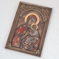 """Картина """"Дева Мария и Иисус"""" (15*23 см)"""