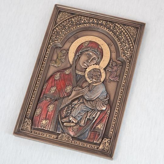 """Картина """"Дева Мария и Иисус"""" (15*23 см) (76070A4)"""