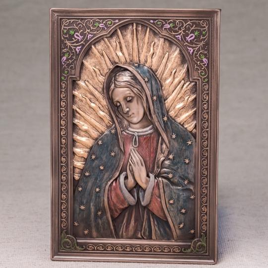 """Картина """"Дева Мария"""" (15*23 см) (76550A4)"""