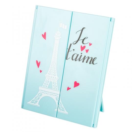 "Зеркало косметическое на подставке ""Je t'aime"""
