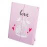 "Зеркало косметическое на подставке ""Love"" (316JH)"