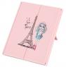 "Зеркало косметическое на подставке ""Девушка в Париже"" (319JH)"