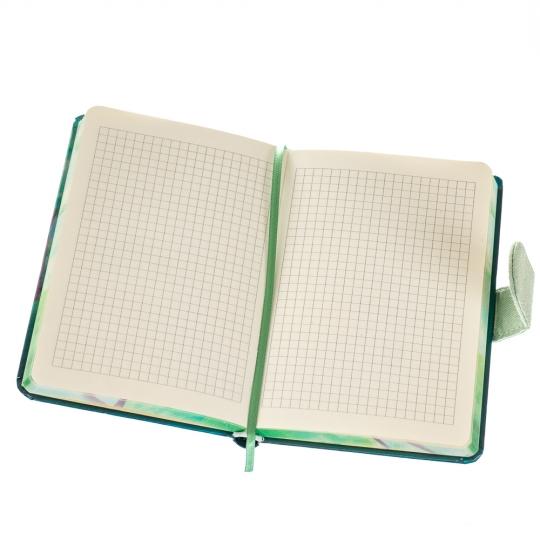 """Блокнот """"Встреча с единорогом"""" маленький 4 вида (клетка) (8129-006)"""