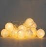 "Гирлянда ""Белые шарики-фонарики"" 20шт. (001NL-20W)"