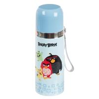 """Термос металлический """"Angry Birds"""" (голубой)"""