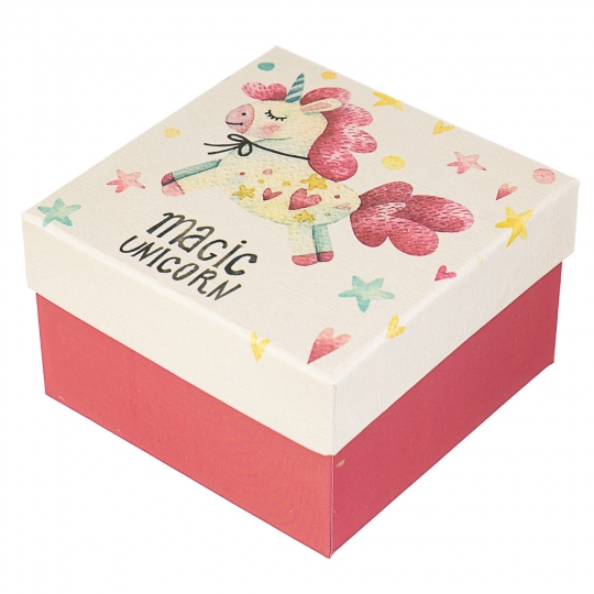 """Коробка, серия  """"Волшебные единороги"""" (0364JH)"""