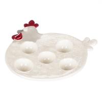 """Подставка для яиц """"Курочка """" (5шт)"""