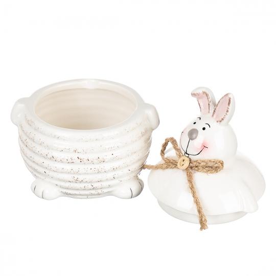 """Емкость для меда и сахара """"Пасхальный кролик"""" (200мл) (008AP)"""