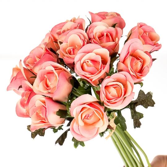 """Искусственные цветы """"Розы"""" микс (0245J)"""