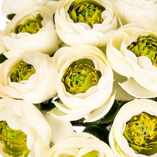 """Искусственные цветы  """"Ранункулюс"""" микс (0246j)"""