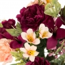 """Искусственные цветы """"Гвоздики"""" микс (0638j)"""