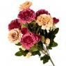 """Искусственные цветы  """"Пионы"""" микс (0642j)"""