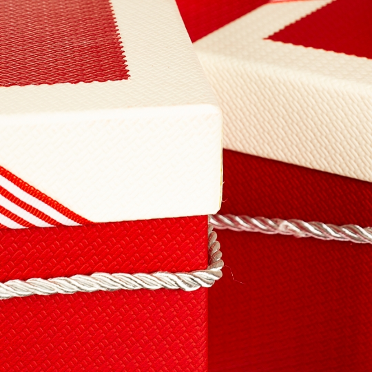 """Набор коробок """"Сюрприз"""" (red), 3шт (0432JH)"""