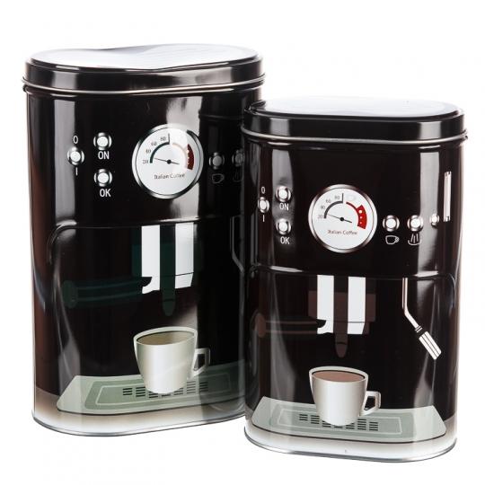 """Набор для чая и кофе """"Сладкая парочка"""" (black) (084JH)"""