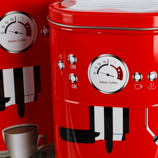 """Набор для чая и кофе """"Сладкая парочка"""" (red) (085JH)"""