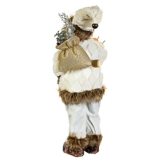 """Фигура """"Лесной Санта с лыжами"""" (044NC)"""