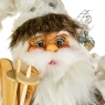 "Фигура ""Санта Клаус с лыжами"" (046NC)"