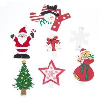 """Комплект елочных игрушек """"Новогодняя компания"""", 7 шт"""